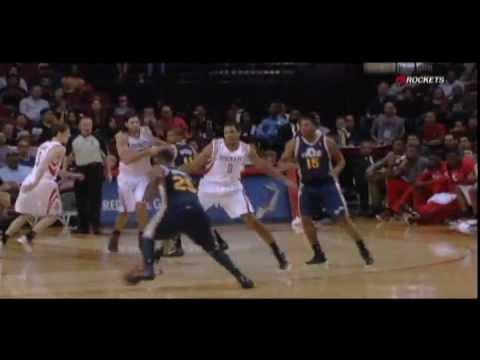 Greg Smith Houston Rockets NBA debut - YouTube
