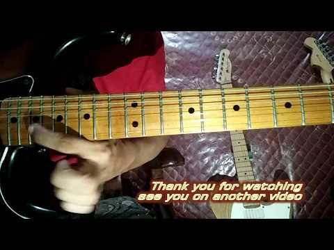 Gak Metal Lagi (Djantan) Guitar Solo Tutorial