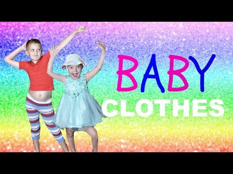 trying-on-baby-clothes!!!