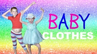 TRYING ON BABY CLOTHES!!!