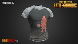 DMM T-shirt v2 | PUBG Item Showcase