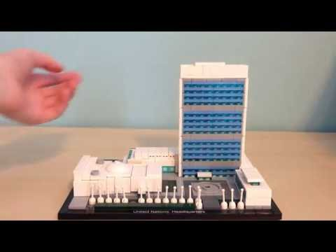 Review - Lego United Nations Headquarters