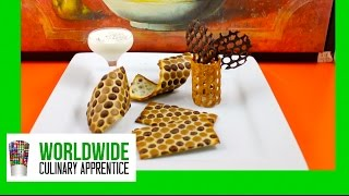 Make Decorative Chocolate Chip Cookies using Bubble Wrap