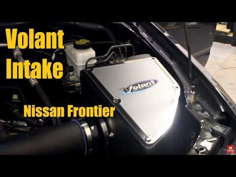 Builds Nissan Frontier Volant Cool Air Intake