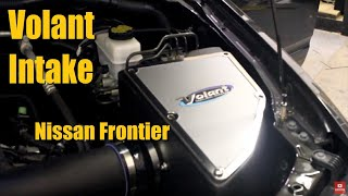 Builds: Nissan Frontier Volant Cool Air Intake Installation