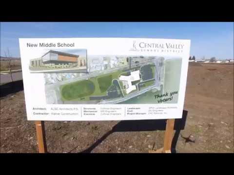 Selkirk Middle School Construction Progress July 2018