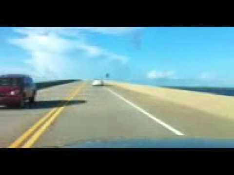 Panana City Beach, FL to Niceville, FL via Choctawhatchee Bay Toll Bridge