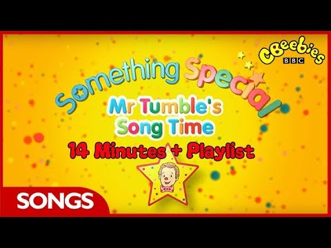 CBeebies Songs | Mr Tumble's Song Time Compilation