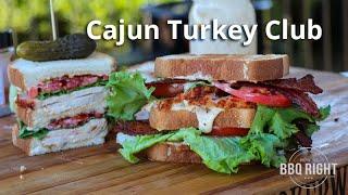 Cajun Turkey Club