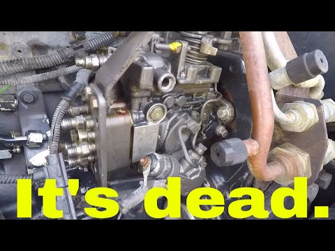 TS115A Injector And Injection Pump Removal YouTube