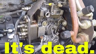 TS115A Injector and Injection Pump removal