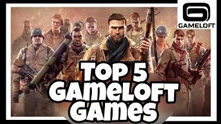 Top 5 Games By Gameloft | Android/iOS | Games Of Android