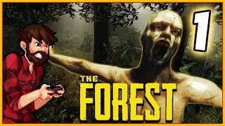 BACK INTO THE FOREST OF HORRORS | The Forest FULL RELEASE 1.0 Gameplay Let