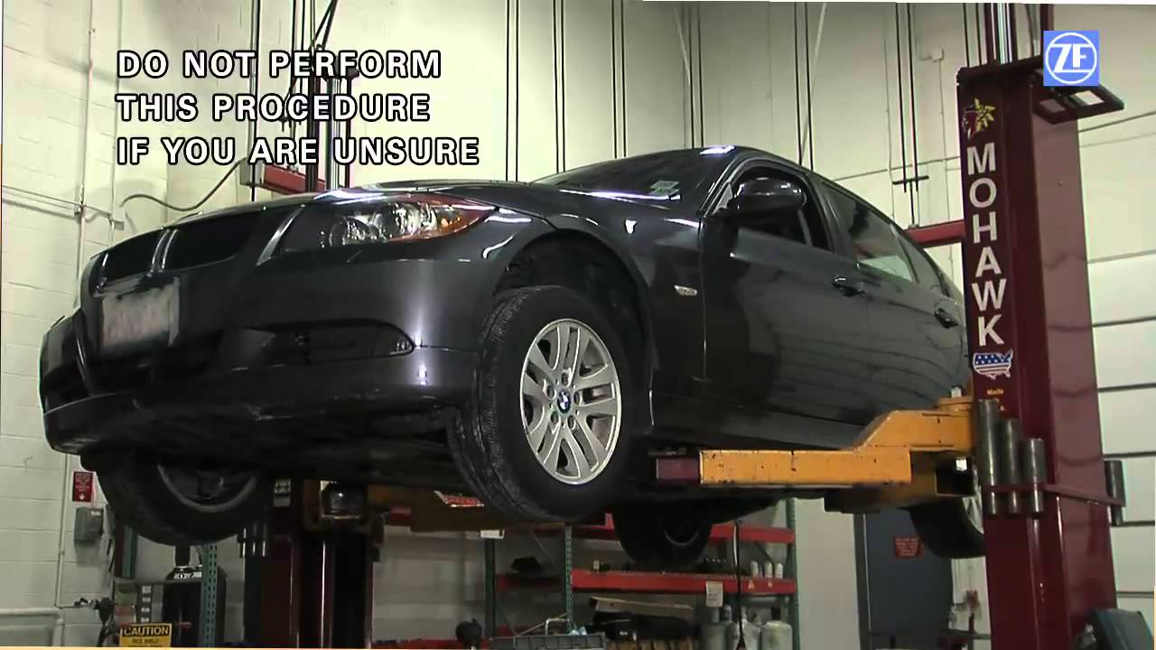 ZF 6HP Transmission Oil Change Interval Procedure - YouTube
