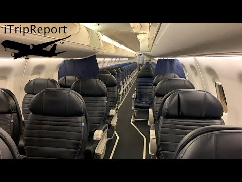United Express E-175 First Class Review
