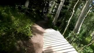 Google Glass Mountain Bike Test -- Crash