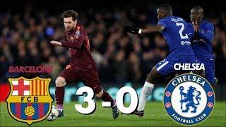 Barça 3- 0 Chelsea : ( Débrief) Messi Marche Sur Les Blues