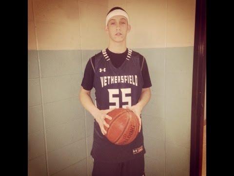 Jake Collagan #55 Junior Year Highlights - Wethersfield High School
