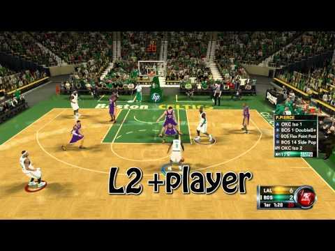 NBA 2K12 | Alley oops avanzados y normales [cap 1] TUTORIAL