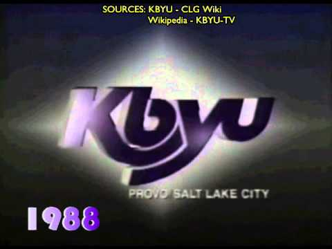 KBYU Ident / Timeline 1982 - 2009