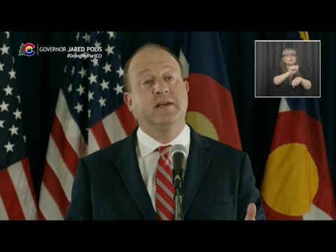 Gov. Jared Polis Announces Restaurants Can Reopen To Dine-in Service, Discusses Latest Models