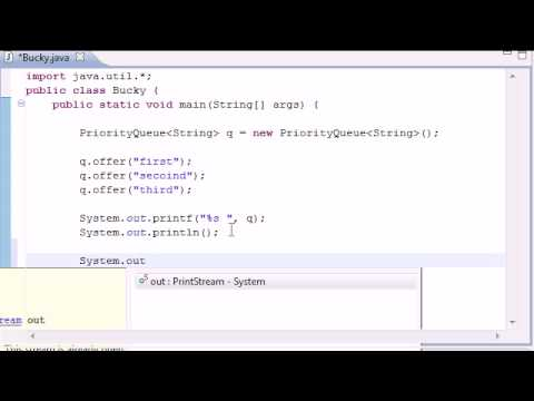 Intermediate Java Tutorial - 15 - Queue - YouTube
