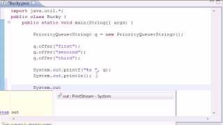Intermediate Java Tutorial - 15 - Queue