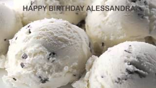 Alessandra   Ice Cream & Helados y Nieves - Happy Birthday