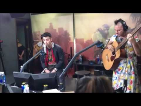 DNCE in studio with On Air with Ryan Seacrest