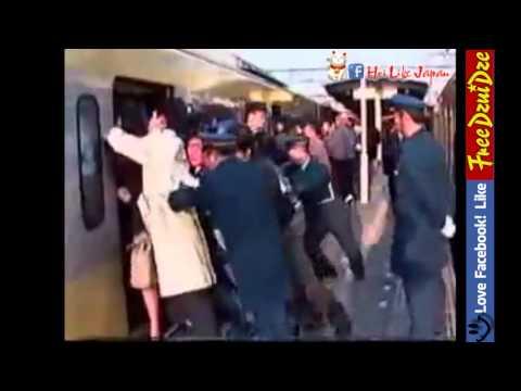 Shock Cảnh nhồi nhét người ở Tàu điện ngầm Nhật Bản