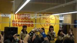 2013/03/20にTOWER RECORDS ピヴォ札幌店にて行われました、アップアッ...