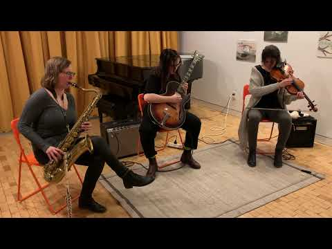Wendy Eisenberg, Anna Webber, Joanna Mattrey - at HappyLucky No. 1 / The Stone - Jan 24 2020