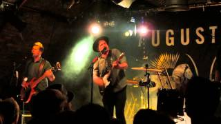 Augustines :- Kid You`re On Your Own : Live @ The Arches , Glasgow 11/04/14