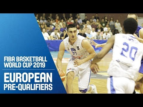 Bosnia & Herzegovina v Armenia - Full Game - FIBA Basketball World Cup 2019 - Europe. Pre-Qualifiers