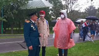 Ветеран на марше единства. 29 день протестов в Беларуси. Лукашенко уходи! 6.09.2020 #яГуляю #Перемен