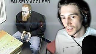 xQc Reacts to Guilty until proven innocent. (JCS - Criminal Psychology)