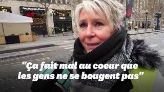 """Acte V des gilets jaunes: cette manifestante """"révoltée"""" par la faible mobilisation"""
