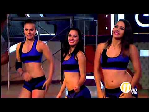 Aldo Ranks canta en la coreografía de Combate (29-04-2016)