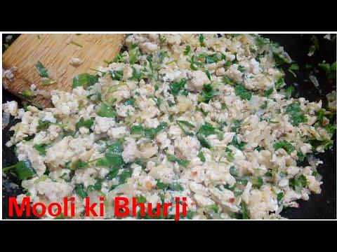 Mooli ki bhurji recipe by Kitchen with Rehana