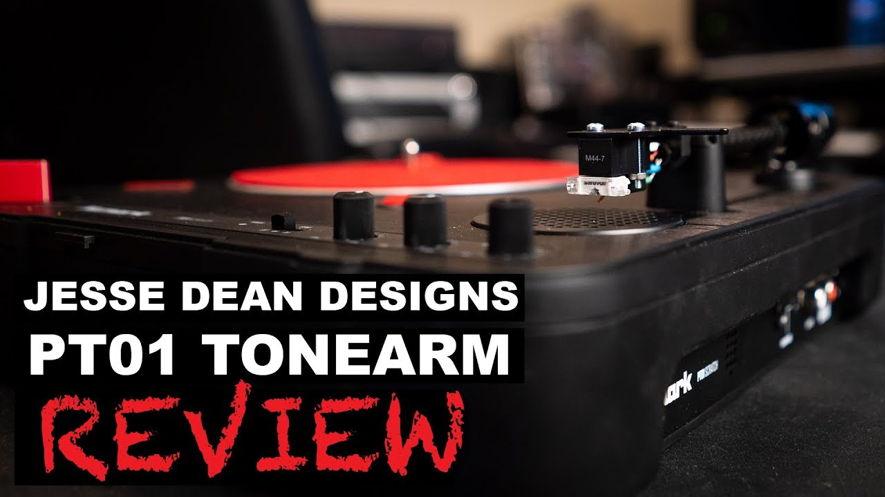 Jesse Dean Tonearm Review 2018 | JDDPTA for Numark PT01 Scratch