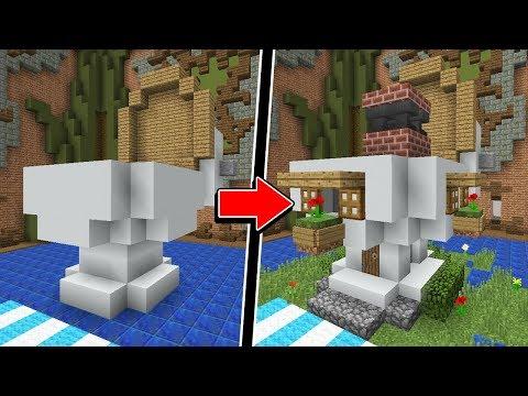 Minecraft: DESAFIO! EU SÓ POSSO CONSTRUIR CASAS! (BUILD BATTLE) thumbnail