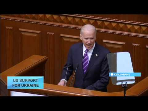 US Support to Ukraine: Biden tells Ukrainian MPs they face 'historic battle' against corruption
