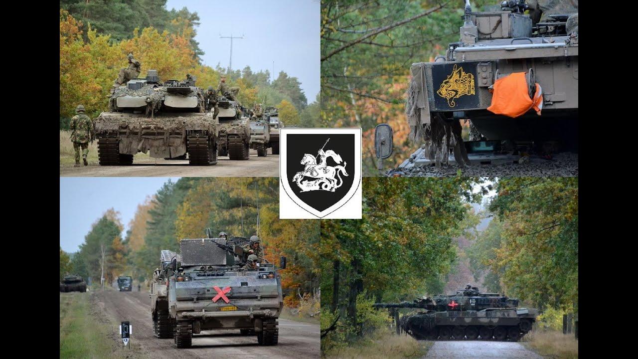 2020 Panzerbataillon 414 im Schießübungszentrum Panzertruppen / TrÜbPl Munster