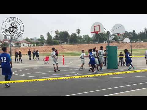 Jeremiah Claiborne #4 Highlights from 8th Grade Clement Middle School Ball