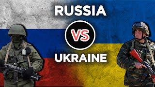 Russia vs Ukraine - Military Power Comparison 2021