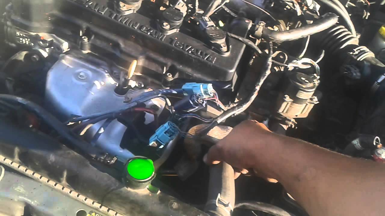 Part 2 No Spark Nissan Sentra Youtube Wiring Diagram Qg18