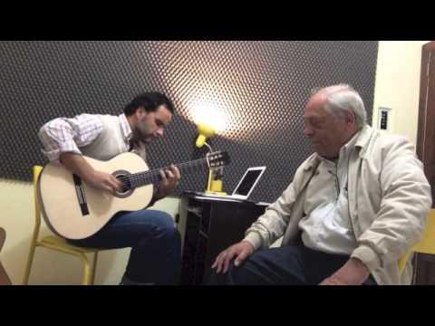 Marcello Caminha e Marco Aurélio Vasconcellos - Gaudêncio 7 Luas ensaio
