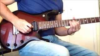 Emotional melodic guitar solo by Stel Andre