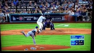 Joe Buck is a horrible announcer - Cubs-Dodgers 2016 NLCS