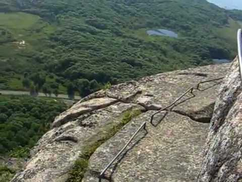 Precipice Trail Most Dangerous Part Acadia National Park Maine